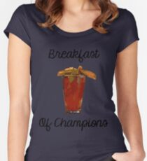 Bloody Mary Breakfast of Champions Women's Fitted Scoop T-Shirt