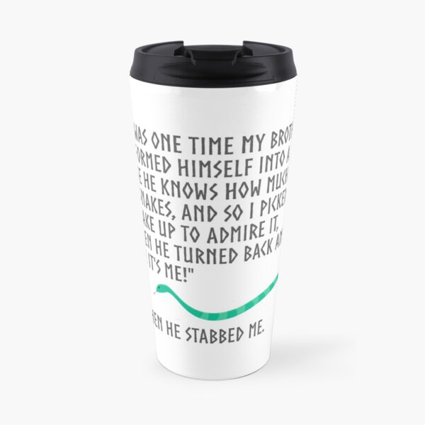 And Then He Stabbed Me. Travel Mug