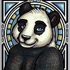Nouveau Panda by Kayleen Connell