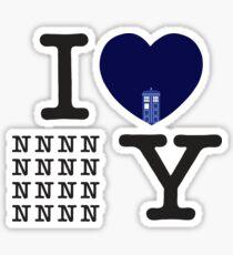 I Love New New York Sticker