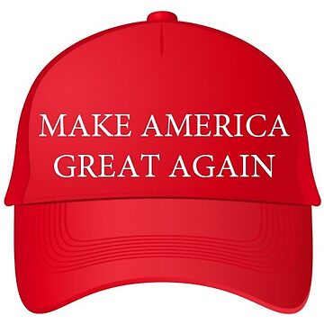 Trump Famous Make America Great Again Red Cap by TrumpThe45th