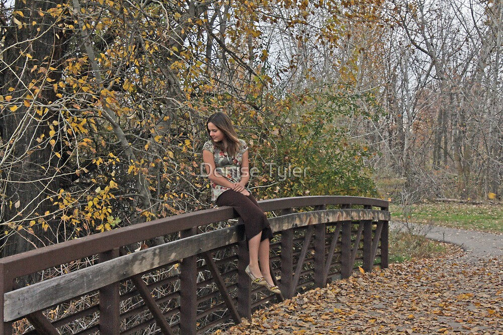 Fall Stroll in the Park by Denise Tyler
