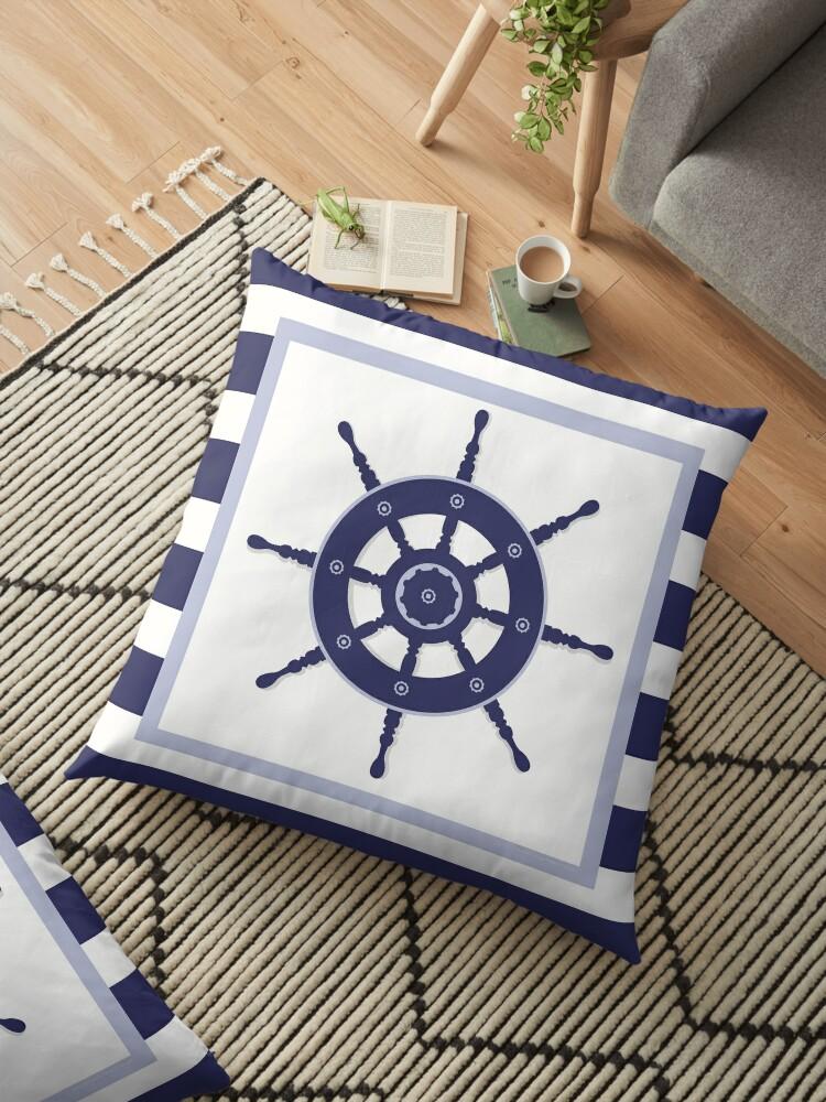 Nautical Floor Pillows :