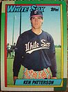 346 - Ken Patterson by Foob's Baseball Cards