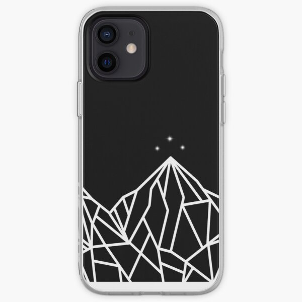 NIGHT COURT MOUNTAINS  iPhone Soft Case