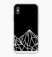 NIGHT COURT MOUNTAINS  iPhone Case