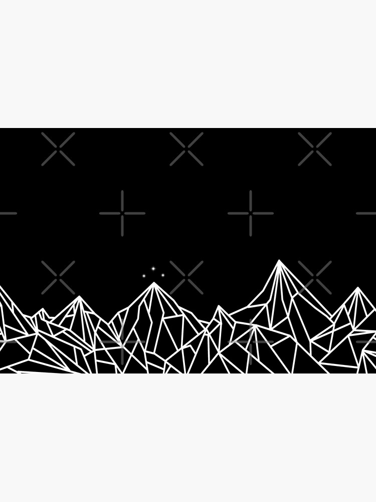 NIGHT COURT MOUNTAINS  by floeing