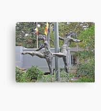 Grace and Freedom Canvas Print