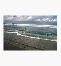 Spring Tide at Newcastle Baths by Bernadette Smith  Photographic Print