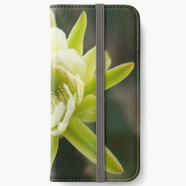 Princess of the Night - Bloom with Playful Bees iPhone Wallet