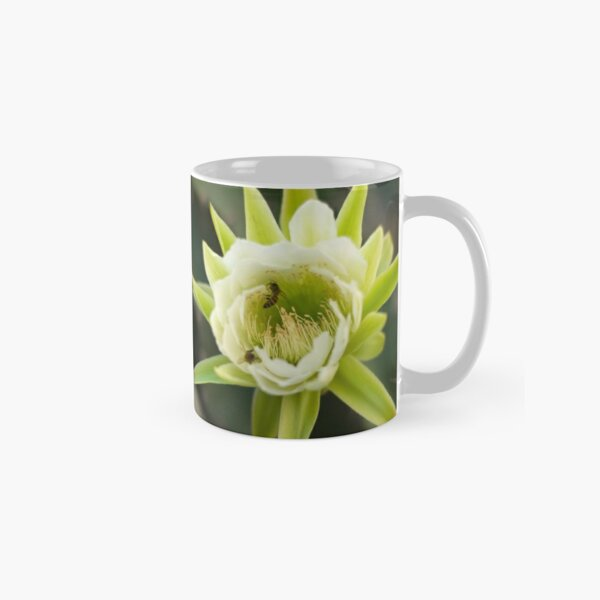 Princess of the Night - Bloom with Playful Bees Classic Mug