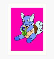 Gaming Turtles Art Print