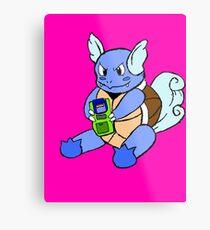 Gaming Turtles Metal Print