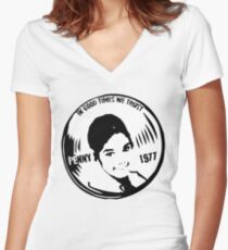 Penny II (large) Women's Fitted V-Neck T-Shirt