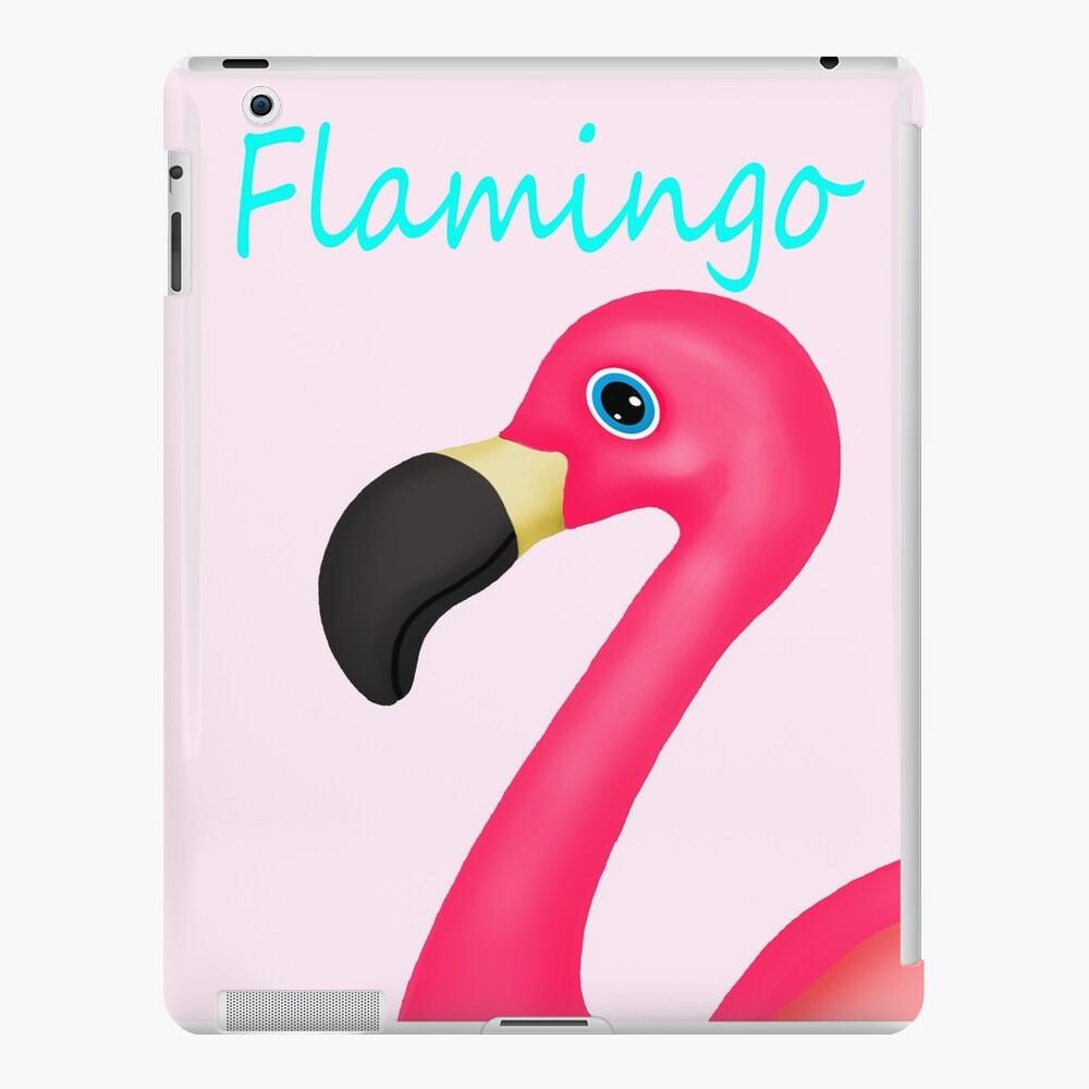 Pink and Teal Flamingo iPad Case & Skin