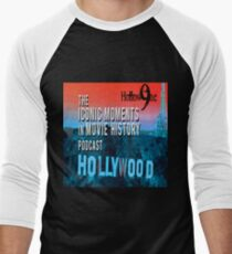 Hollow9ine's Iconic Moments in Movie History Podcast Men's Baseball ¾ T-Shirt
