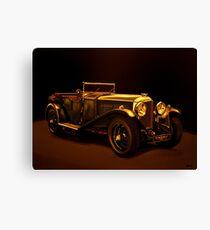 Bentley Open Tourer 1929 Mixed Media Canvas Print