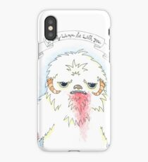 Sad Wampa iPhone Case