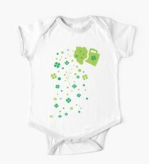 Green Beer st.Patrick's day One Piece - Short Sleeve
