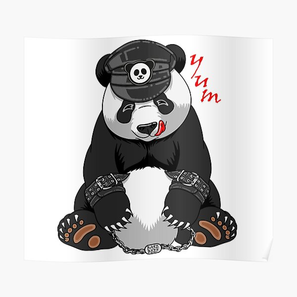 Kinky Panda Poster
