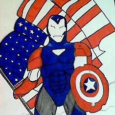 iron man does captain america by pinkyfizz