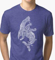 Shark Surfer  Tri-blend T-Shirt
