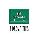 I Drove the 401 by Christine Montague