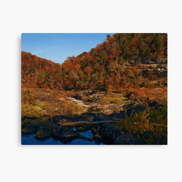 River of Color Canvas Print