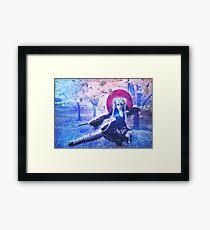 Sweet Samurai Framed Print