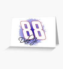 88 Dale Jr Greeting Card