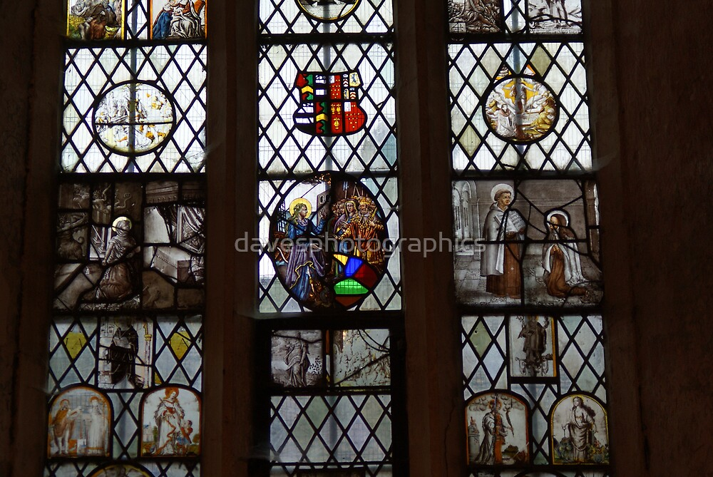 Stained Glass Window 1 by davesphotographics