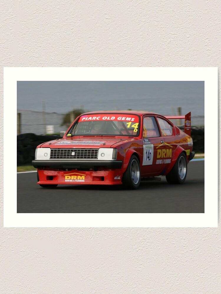 Alternate view of Racing Red Gem Art Print