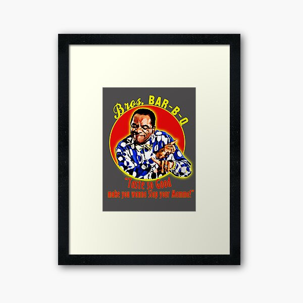 "Uncle Elroy"" Framed Art Print by JTK667 