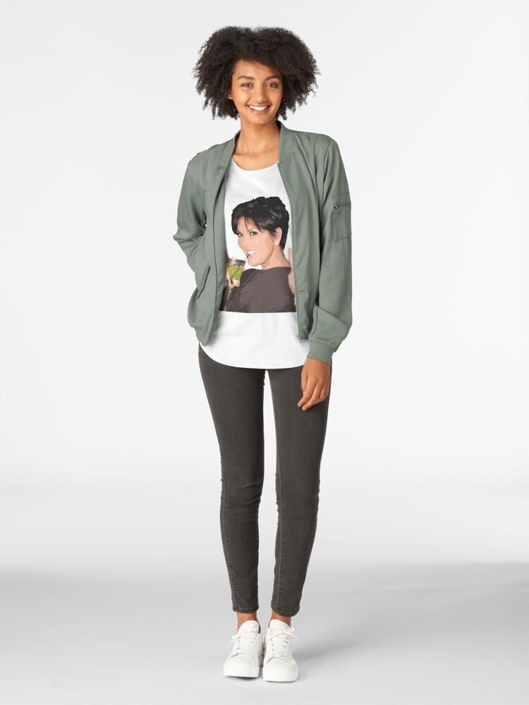 Alternate view of Kris Jenner Premium Scoop T-Shirt