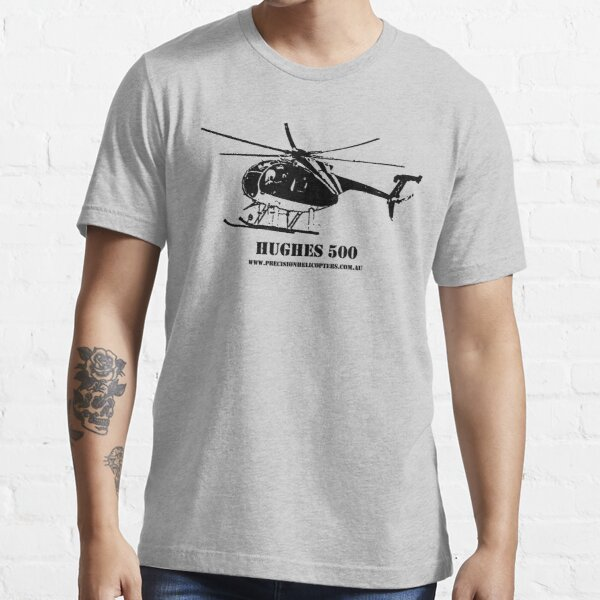 Hughes 500 Helicopter Essential T-Shirt