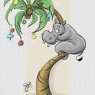 Xmas Card- Hippo Holidays! by JungleCrews