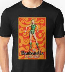 Barbarella - Poster Classic Science Fiction Cult Movie Unisex T-Shirt