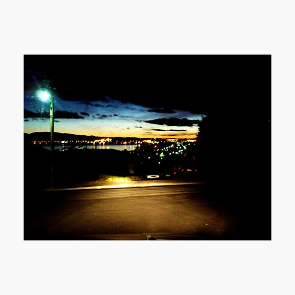 4.55 am (long hungover drive home) Photographic Print
