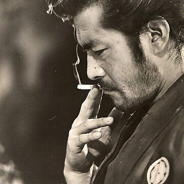 Toshiro Mifune by bammydfbb