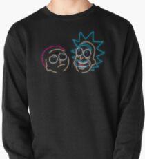 We're Neon Morty Pullover Sweatshirt