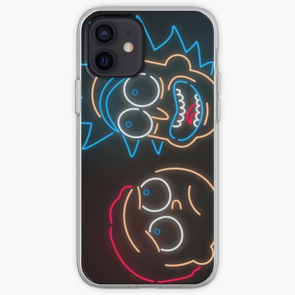 We're Neon Morty iPhone Soft Case