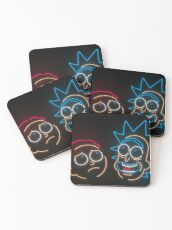 We're Neon Morty Coasters