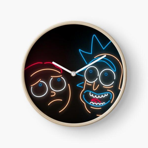 We're Neon Morty Clock