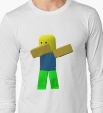 Cool Roblox Noob Dabbing Stickers And More! T-Shirt