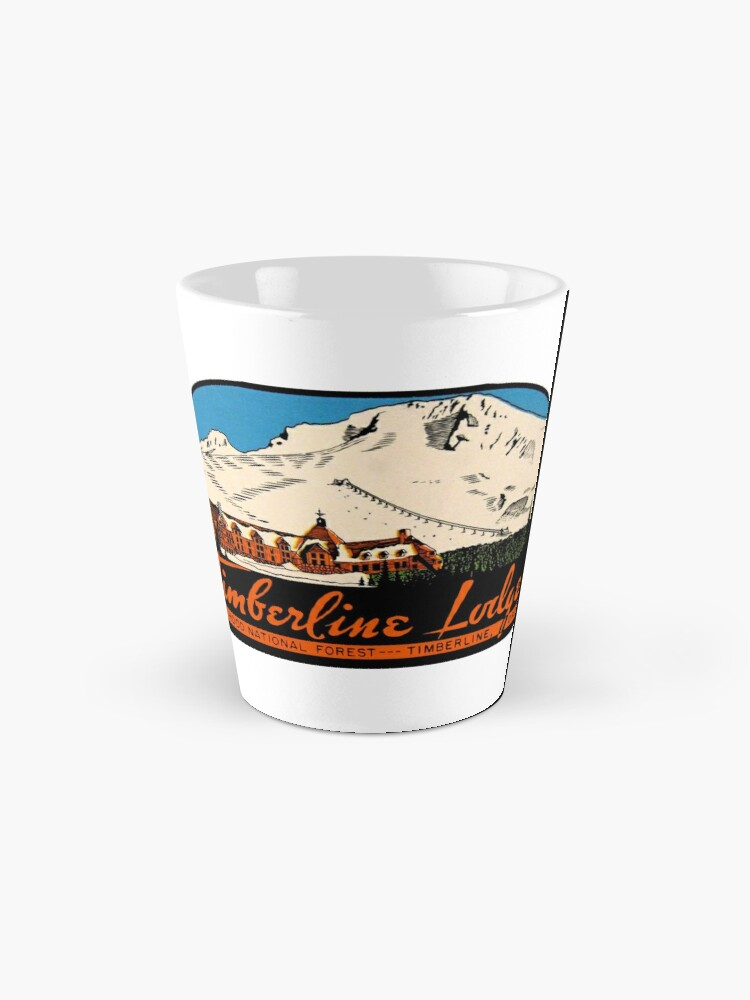 Alternate view of Timberline Lodge Vintage Travel Decal Mug