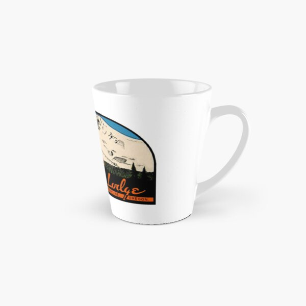 Timberline Lodge Vintage Travel Decal Tall Mug