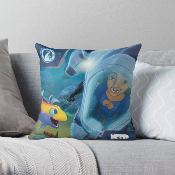 The Deep - Ant & Jeffery Throw Pillow