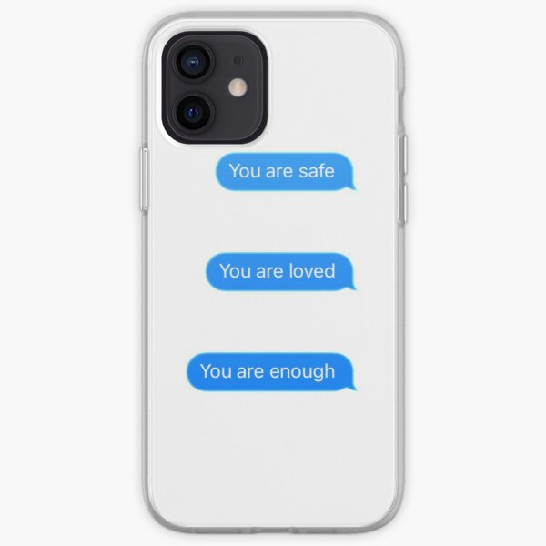 Nice Texts iPhone Soft Case