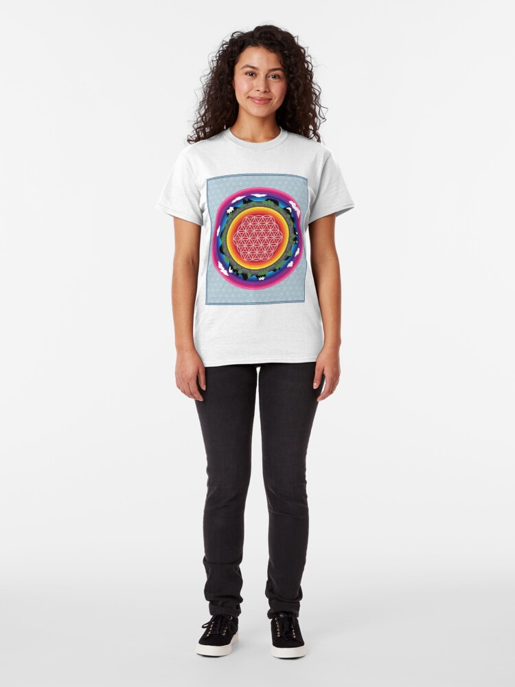 Alternate view of Flower Planet Classic T-Shirt