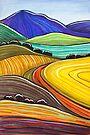 Pastels - Harvest by Georgie Sharp